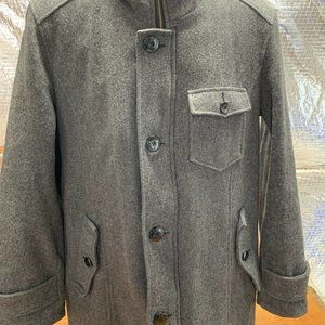 Schott Wool Blend Lined Jacket Coat Vintage